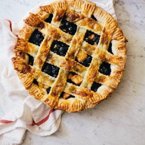 Blueberry Peach And Lavender Perfect Pie Hummingbird High