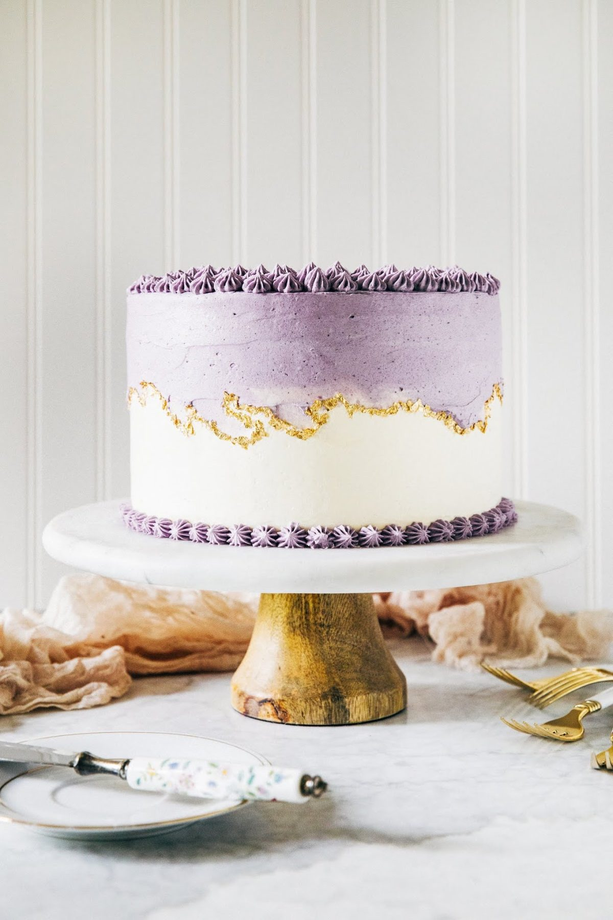 Astounding Ube Layer Cake Seven Years Of Hummingbird High Hummingbird High Funny Birthday Cards Online Kookostrdamsfinfo