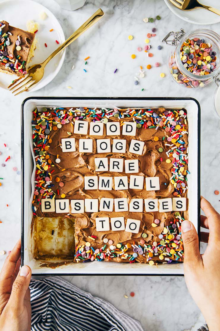 food blogs are small businesses too