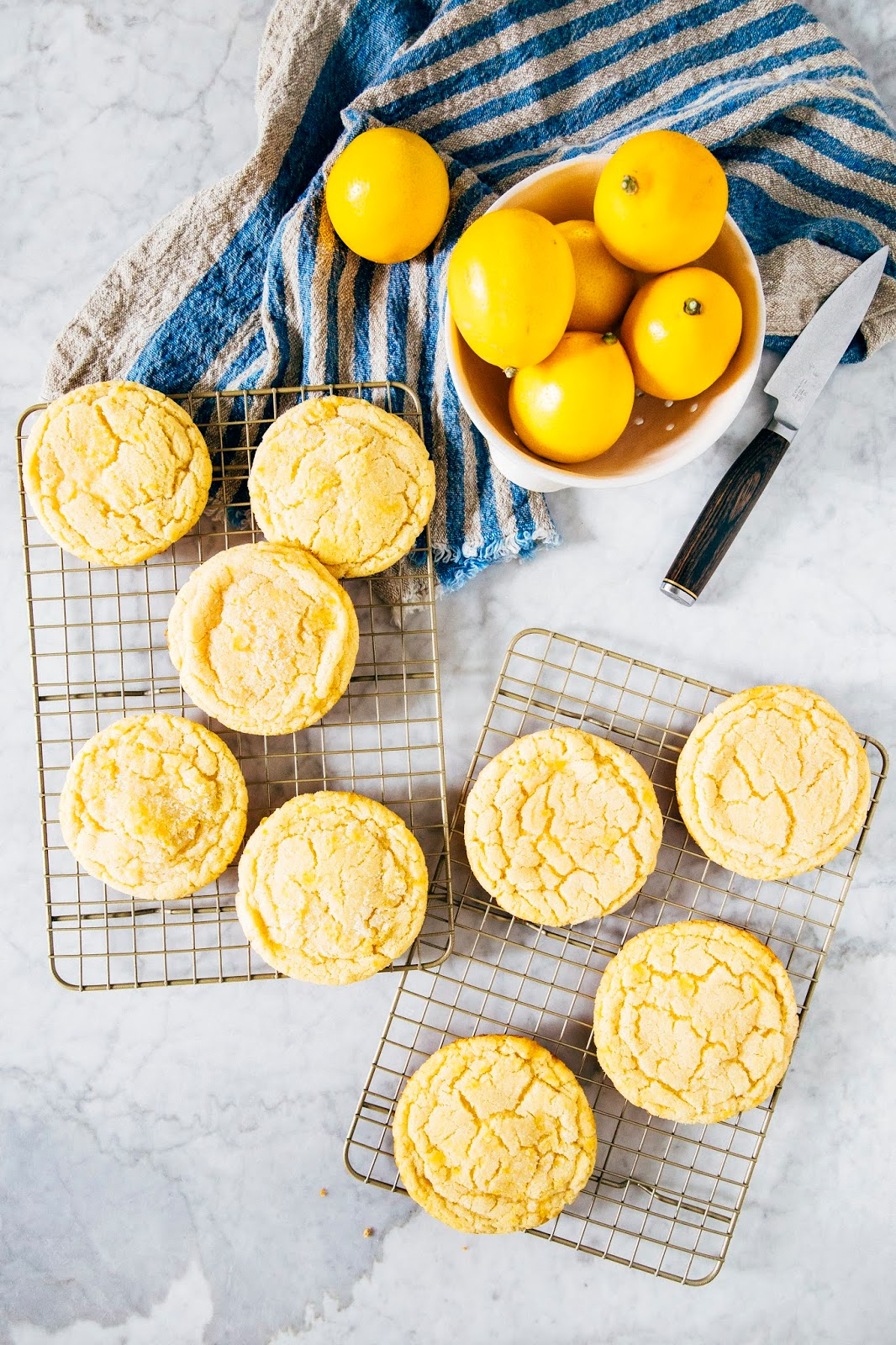 Tangy Meyer Lemon Sugar Cookies Hummingbird High