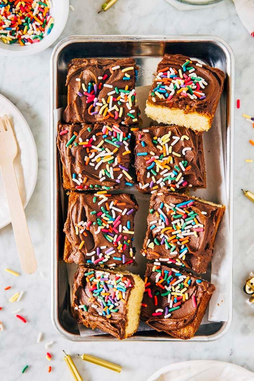 small batch yellow cake