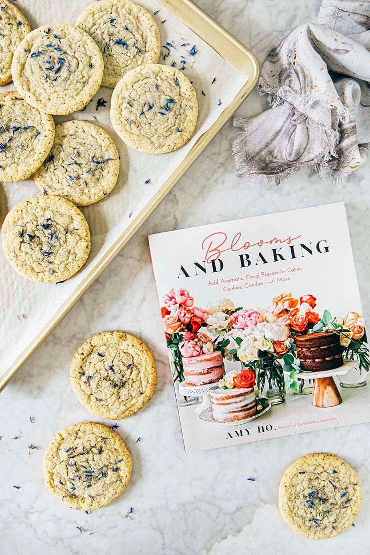 lavender earl grey cookies