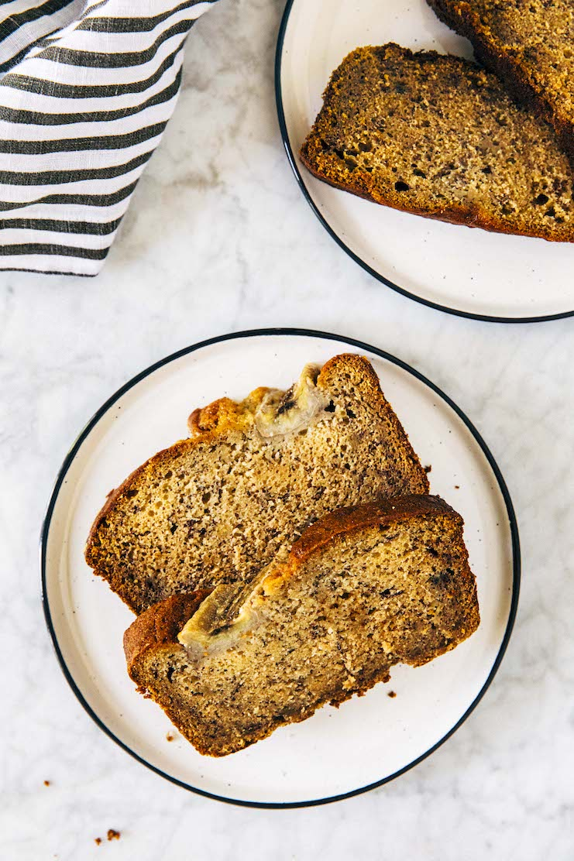 banana bread with sour cream