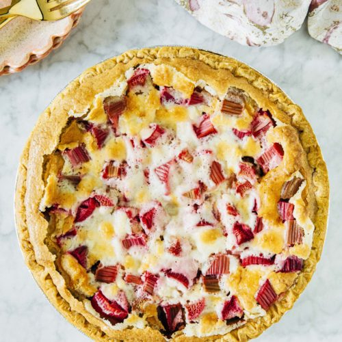 Rhubarb Custard Pie Hummingbird High