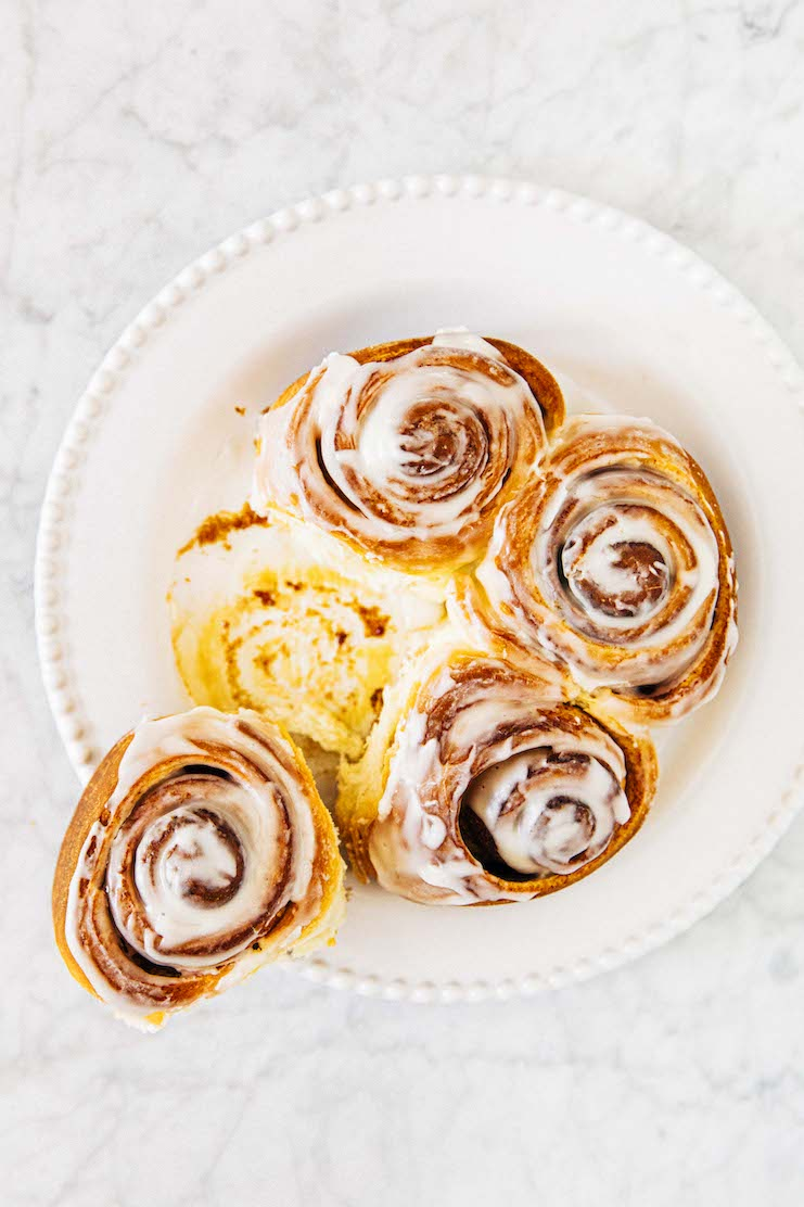 small batch cinnamon rolls