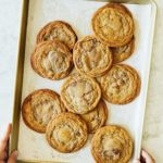 brown butter toffee chocolate chip cookies