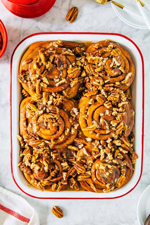 small batch pecan sticky buns