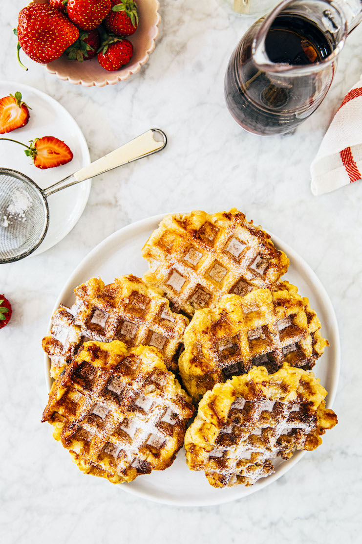 liège waffles recipe