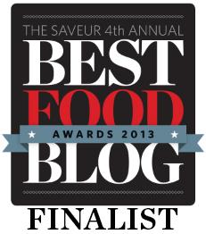 Saveur blog award badge from 2013
