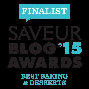 Saveur blog award badge from 2015