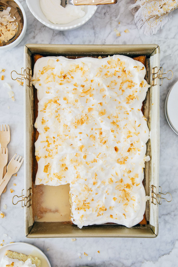 Coconut Tres Leches Cake Hummingbird High