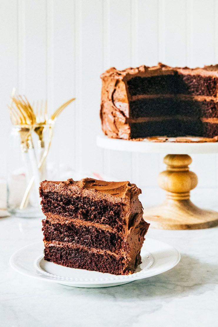 hershey's perfectly chocolate cake