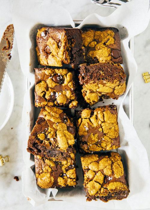 small batch brookie bars