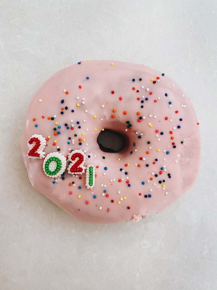 2021 donut for luck!