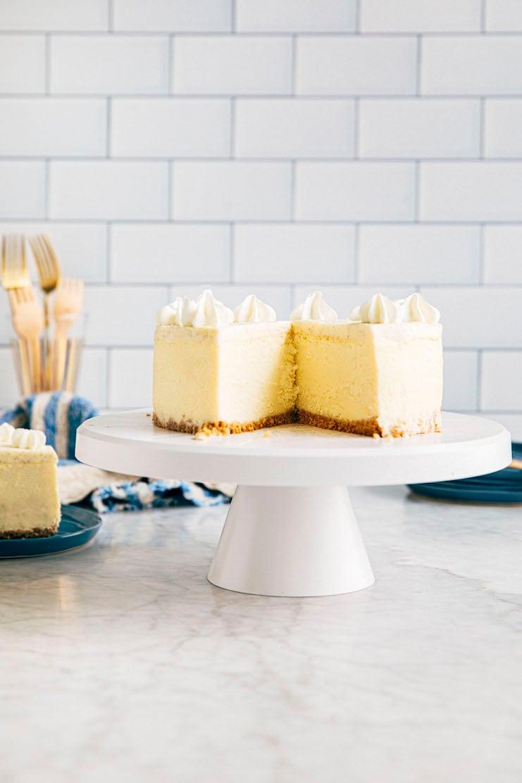 6 inch cheesecake recipe sliced
