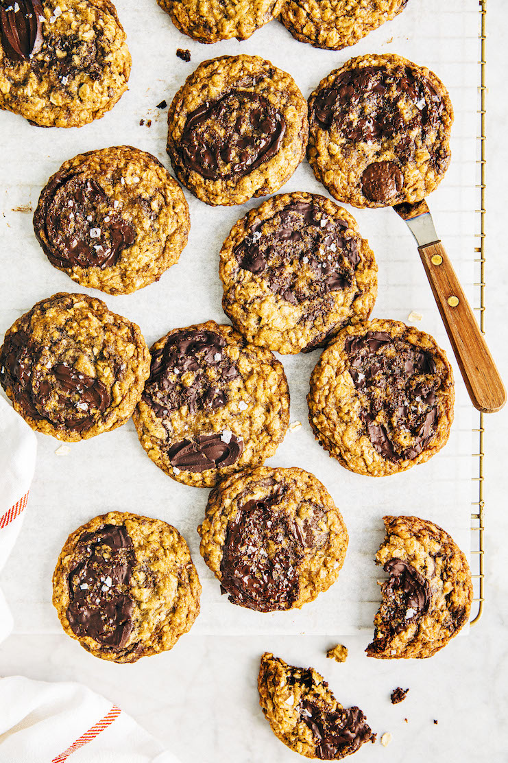 my best oatmeal chocolate chip cookie recipe crumbled