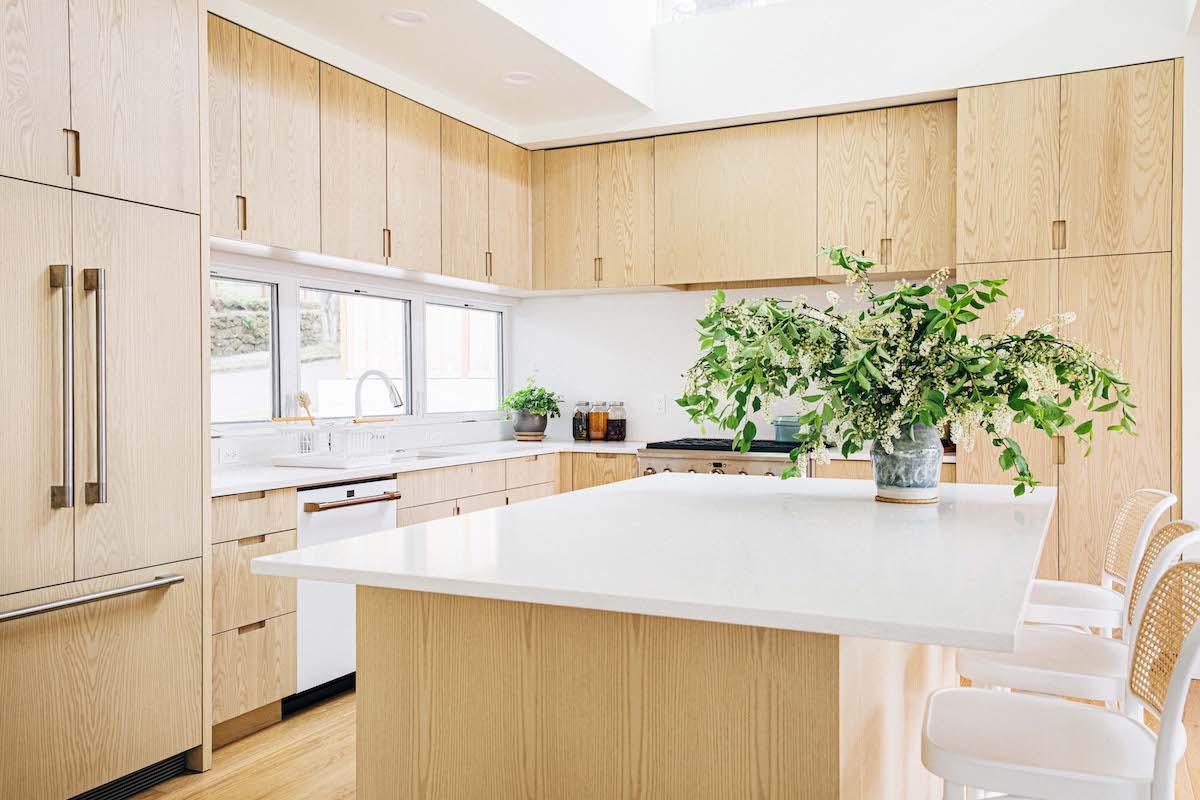 new kitchen reveal island