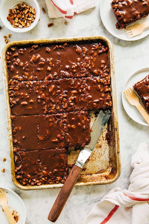 texas sheet cake recipe for 9 x 13 inch pan