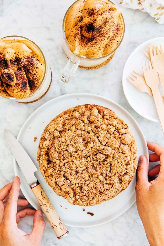 small batch streusel coffee cake