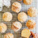 maple brown sugar donut muffins