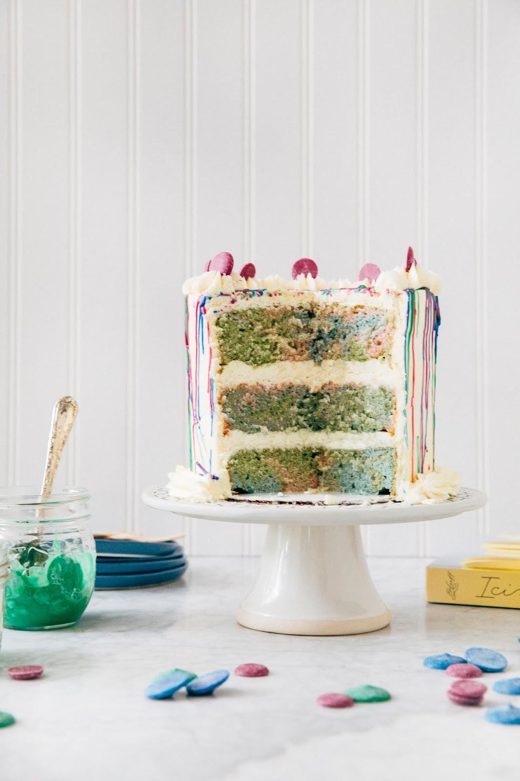 Paint Splatter Cake Hummingbird High